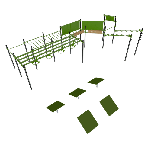 BMP-4000 Ninja Warrior Park Urban