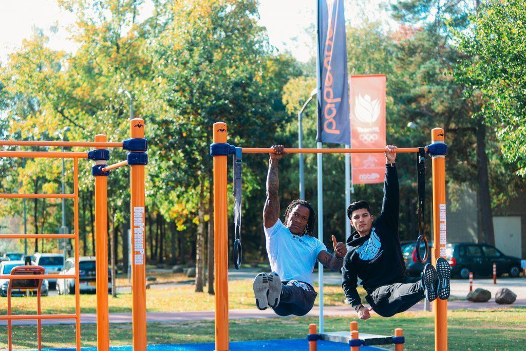 BMP-10306 Double pull-up bar